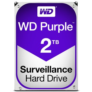 Western Digital Purple 2000GB Serial ATA III Interne Festplatte